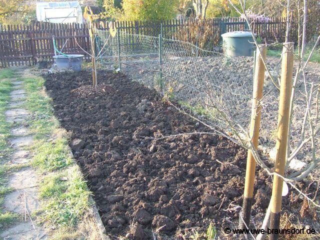 Gartentagebuch november 2010 for Boden umgraben