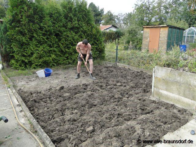 Garten umgraben  Gartentagebuch 2011